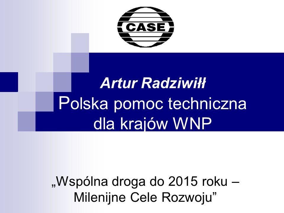 Artur Radziwiłł Polska pomoc techniczna dla krajów WNP