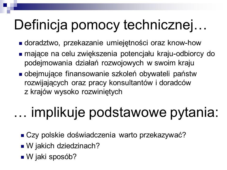 Definicja pomocy technicznej…