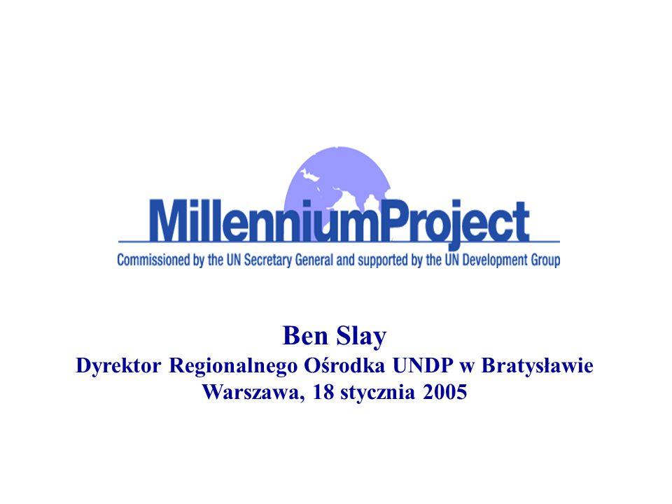 Dyrektor Regionalnego Ośrodka UNDP w Bratysławie
