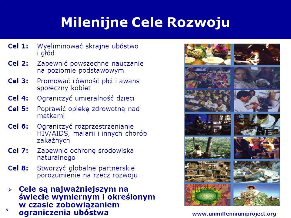 Milenijne Cele Rozwoju