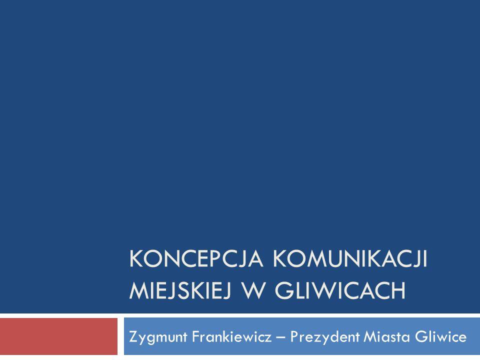 Koncepcja Komunikacji miejskiej w Gliwicach