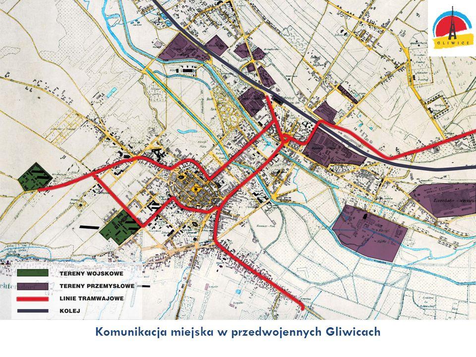 Komunikacja miejska w przedwojennych Gliwicach