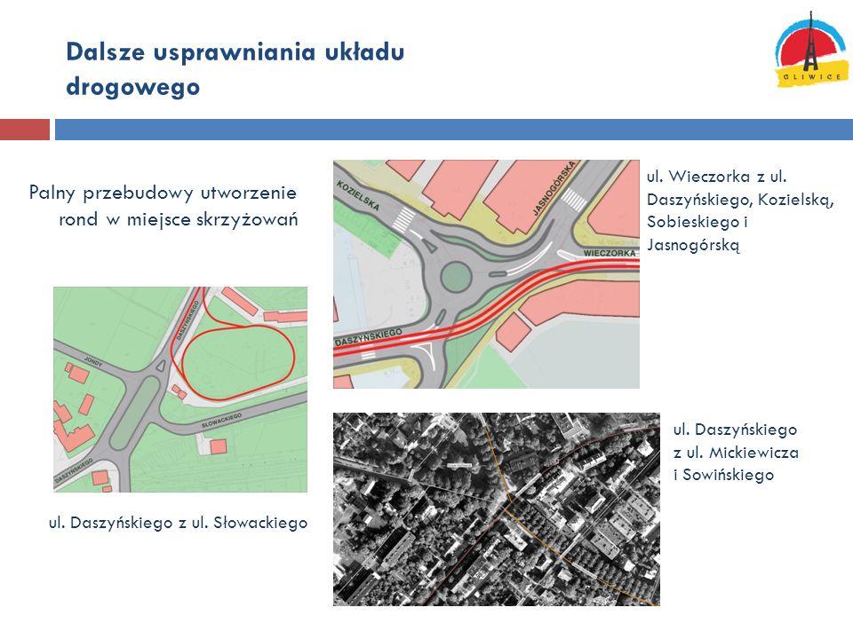 Dalsze usprawniania układu drogowego