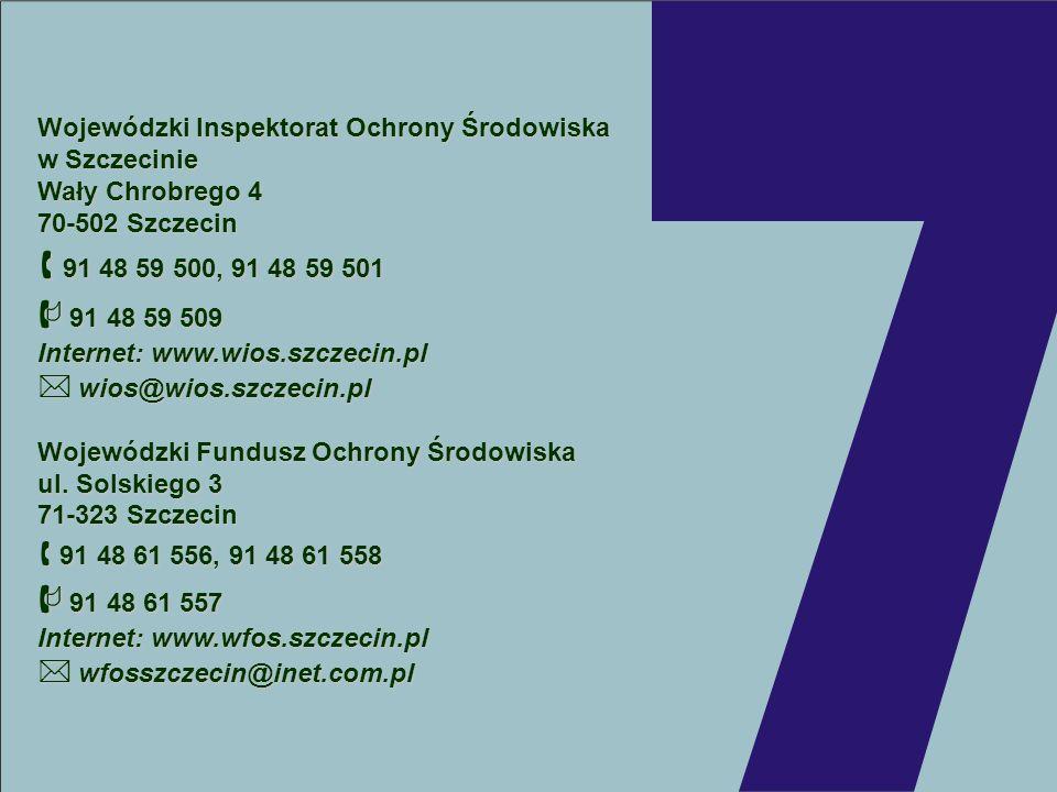  91 48 59 509  wfosszczecin@inet.com.pl
