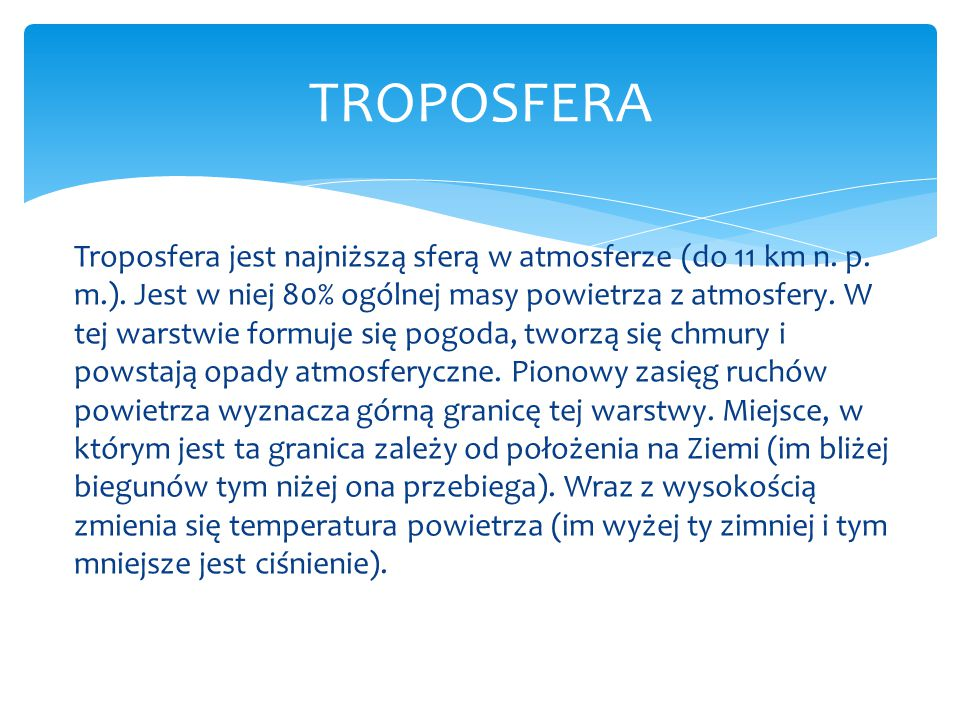 TROPOSFERA