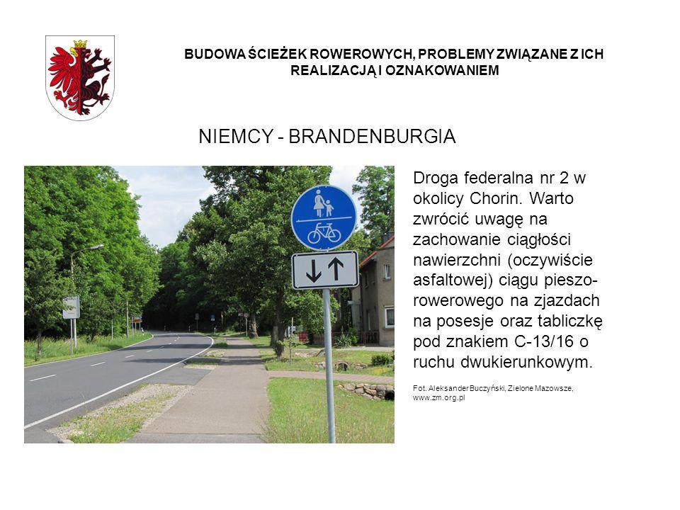NIEMCY - BRANDENBURGIA