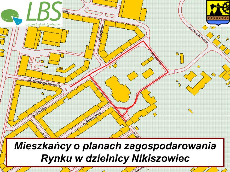 Mieszkańcy o planach zagospodarowania Rynku w dzielnicy Nikiszowiec