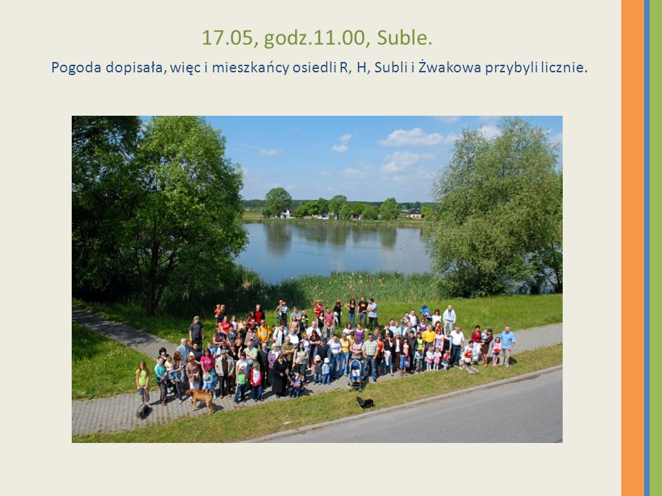 17.05, godz.11.00, Suble.