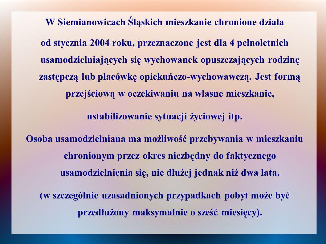 W Siemianowicach Śląskich mieszkanie chronione działa