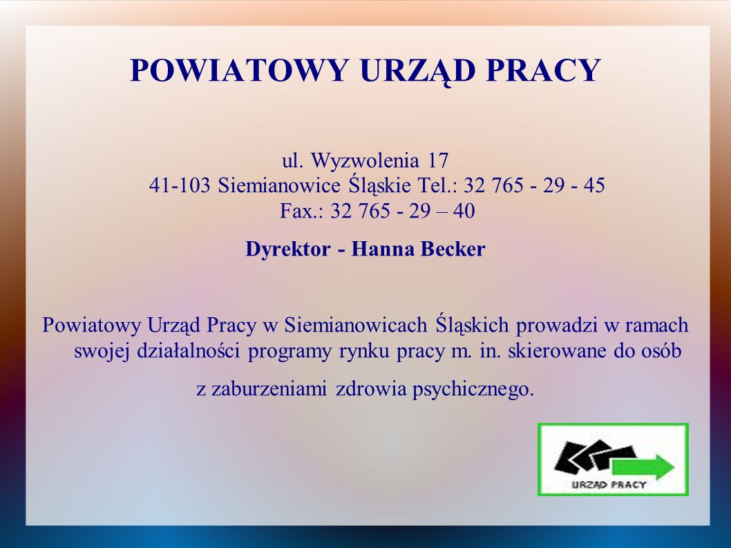 Dyrektor - Hanna Becker
