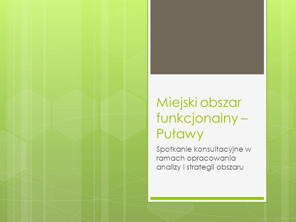 Miejski obszar funkcjonalny – Puławy