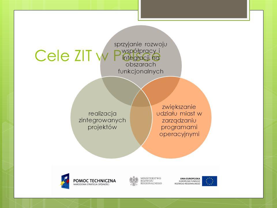 sprzyjanie rozwoju współpracy i integracji na obszarach funkcjonalnych