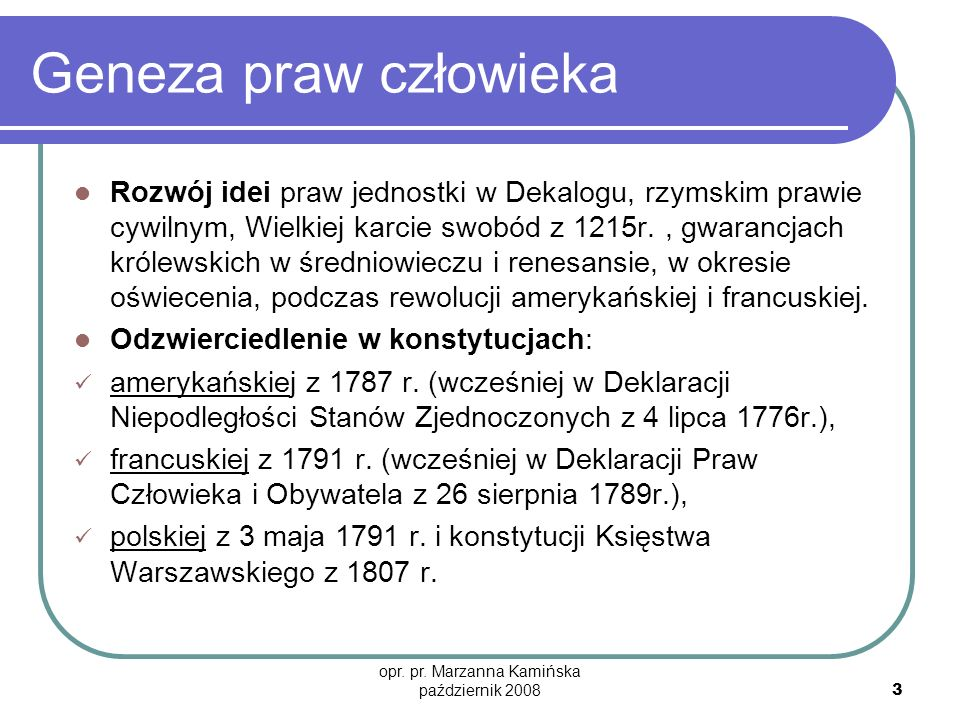 opr. pr. Marzanna Kamińska październik 2008
