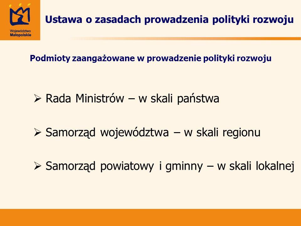 Ustawa o zasadach prowadzenia polityki rozwoju