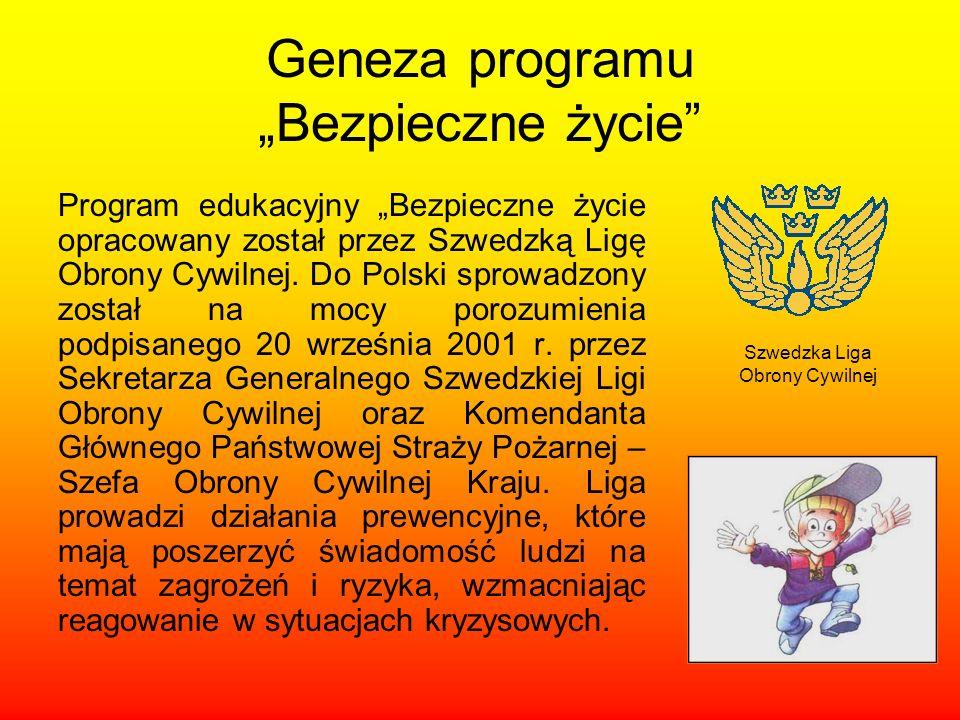 """Geneza programu """"Bezpieczne życie"""