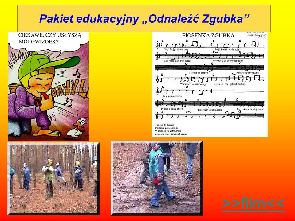 """Pakiet edukacyjny """"Odnaleźć Zgubka"""