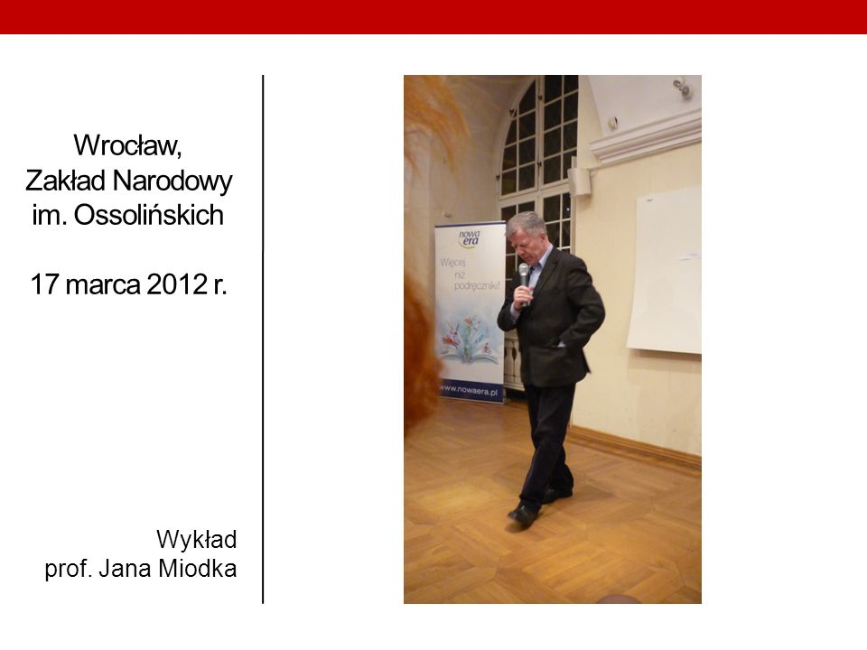 Wrocław, Zakład Narodowy im. Ossolińskich 17 marca 2012 r.