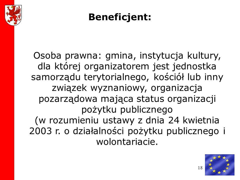 Beneficjent: