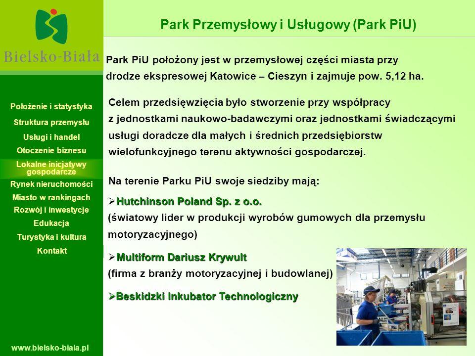 Park Przemysłowy i Usługowy (Park PiU)