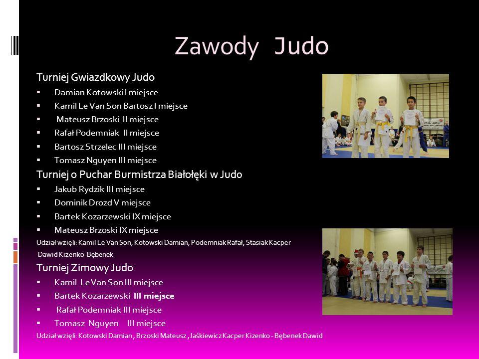 Zawody Judo Turniej Gwiazdkowy Judo