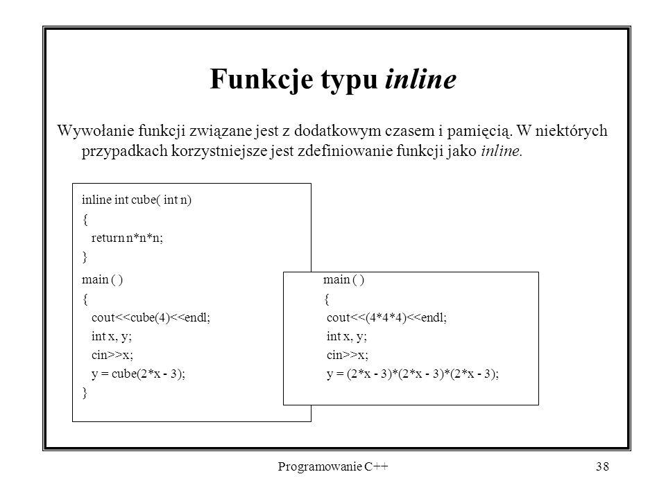 2017-04-19 Funkcje typu inline.