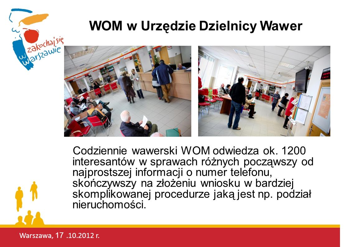 WOM w Urzędzie Dzielnicy Wawer