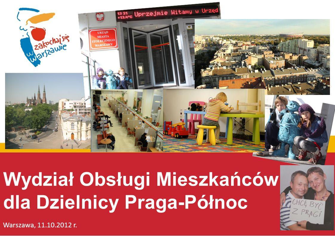 Wydział Obsługi Mieszkańców dla Dzielnicy Praga-Północ