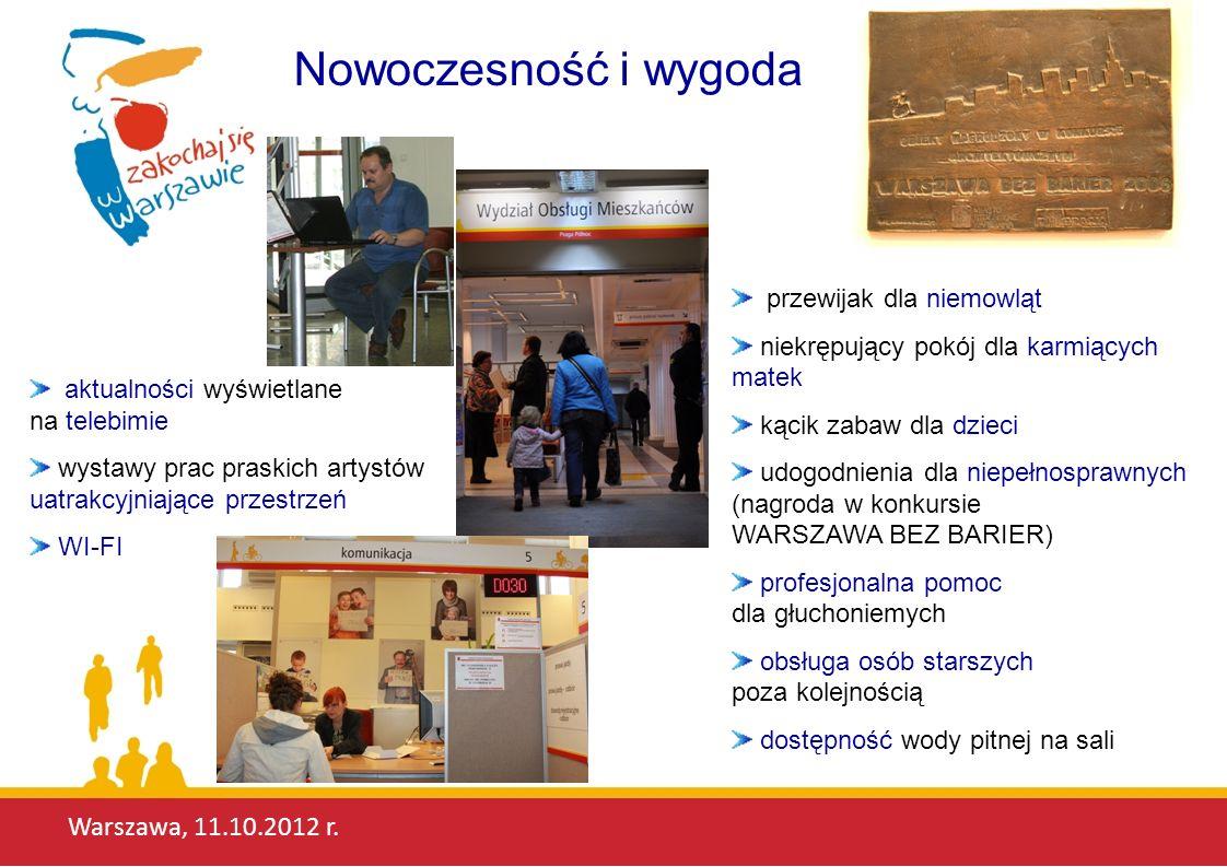 Nowoczesność i wygoda Warszawa, 11.10.2012 r. przewijak dla niemowląt