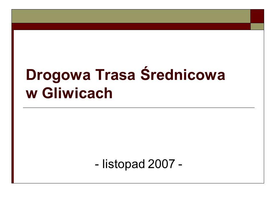 Drogowa Trasa Średnicowa w Gliwicach