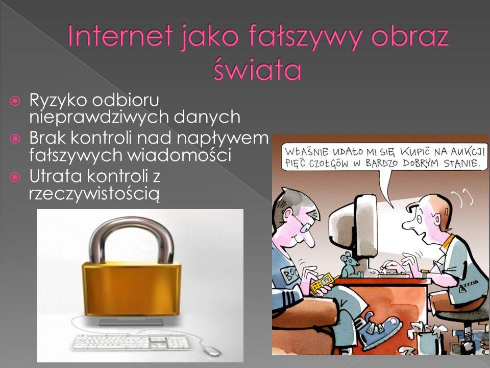Internet jako fałszywy obraz świata