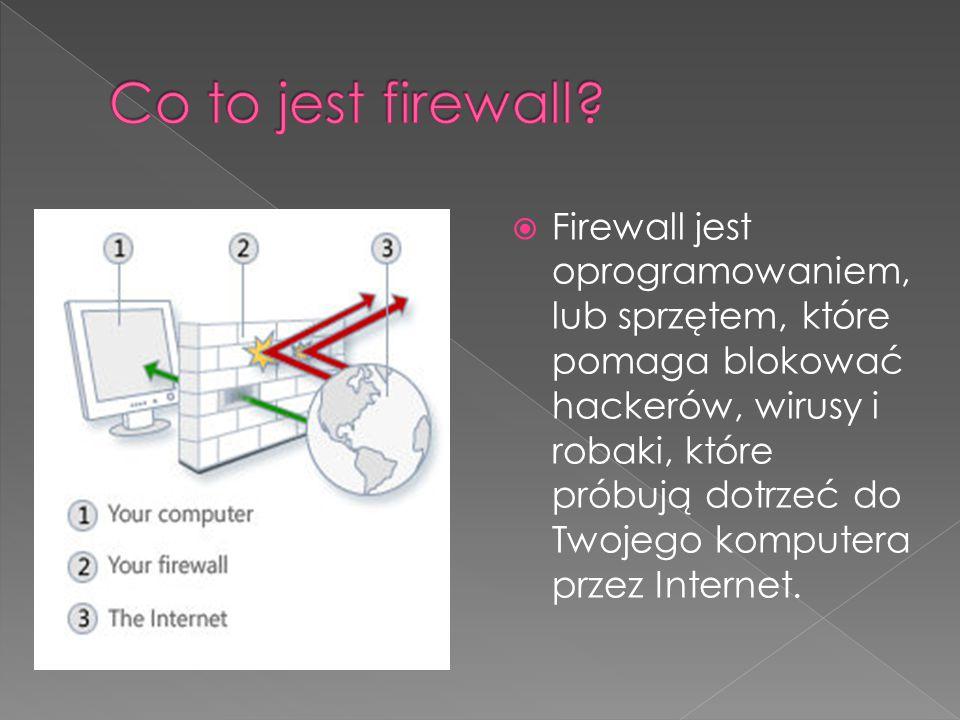Co to jest firewall
