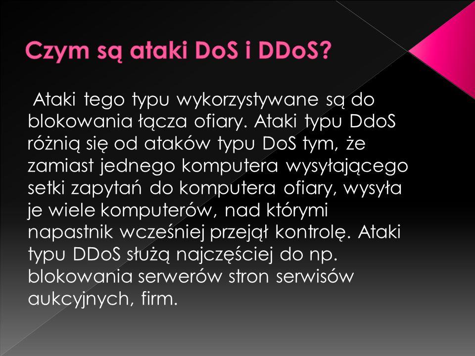 Czym są ataki DoS i DDoS
