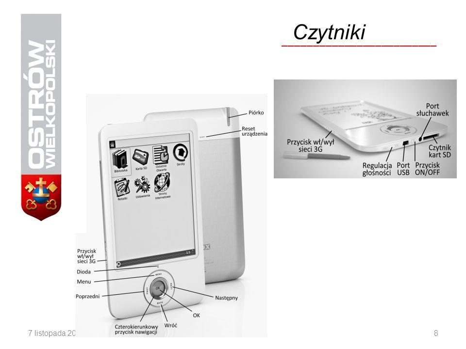 Czytniki _________________________ Źródło: http://www.onyx-ereader.pl/