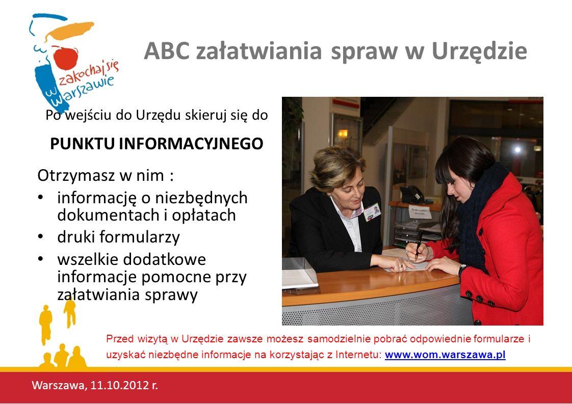 ABC załatwiania spraw w Urzędzie