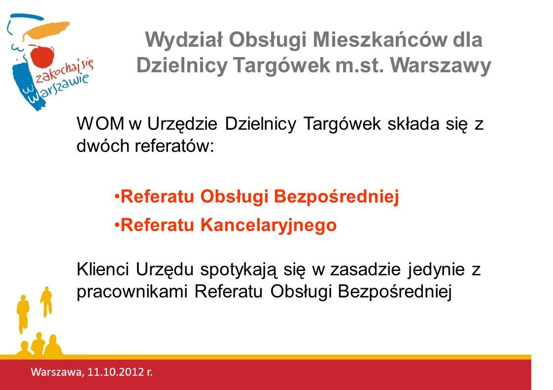 Wydział Obsługi Mieszkańców dla Dzielnicy Targówek m.st. Warszawy