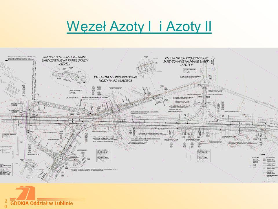 Węzeł Azoty I i Azoty II