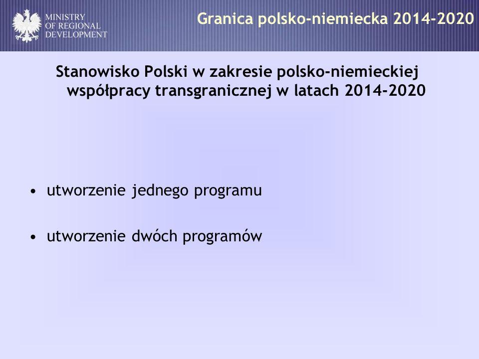 Granica polsko-niemiecka 2014-2020