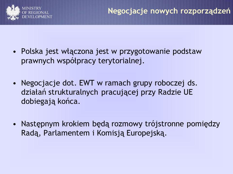 Negocjacje nowych rozporządzeń