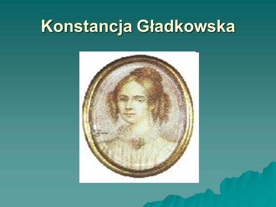Konstancja Gładkowska