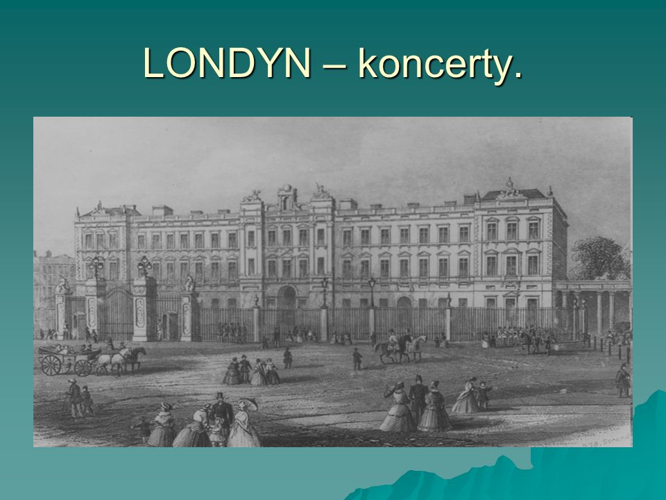 LONDYN – koncerty.