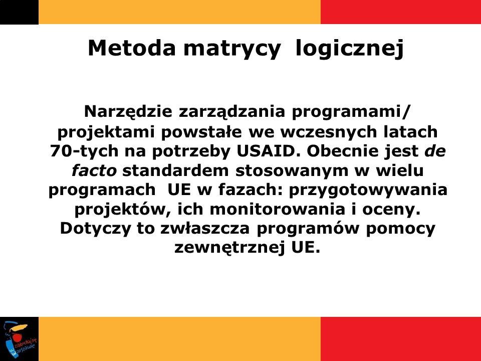 Metoda matrycy logicznej