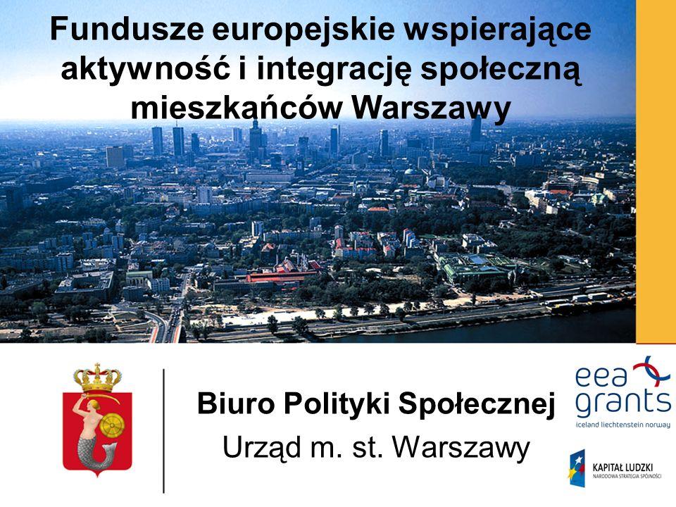 Biuro Polityki Społecznej Urząd m. st. Warszawy