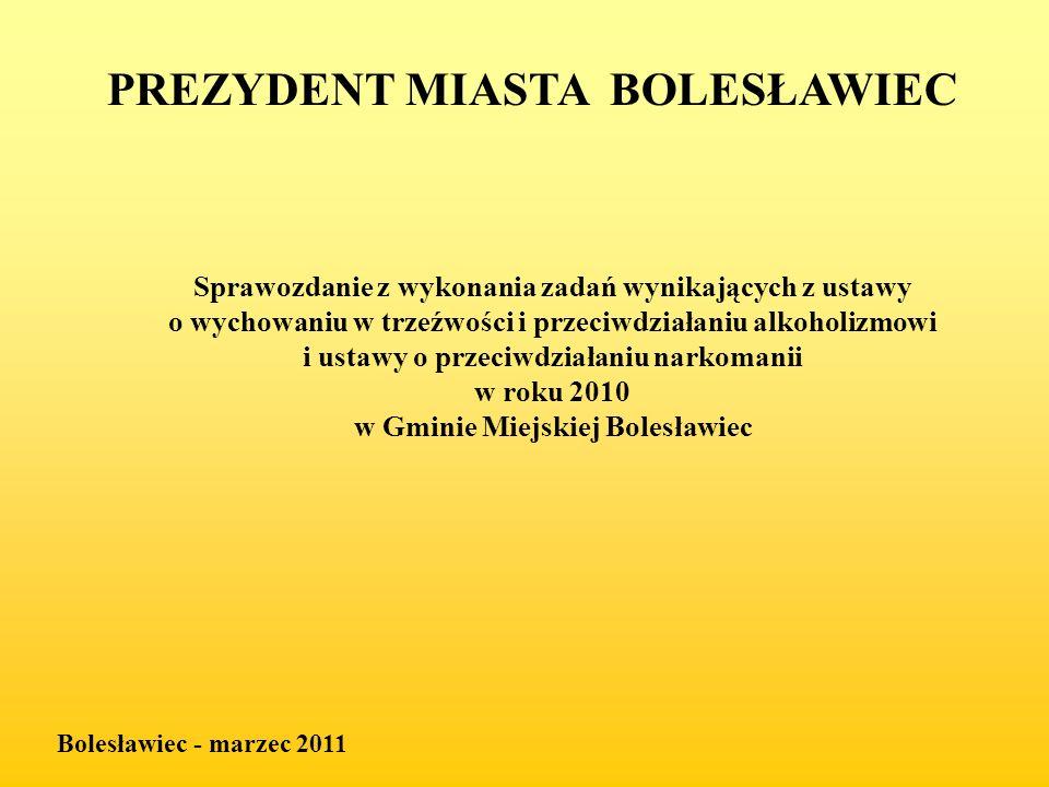 PREZYDENT MIASTA BOLESŁAWIEC