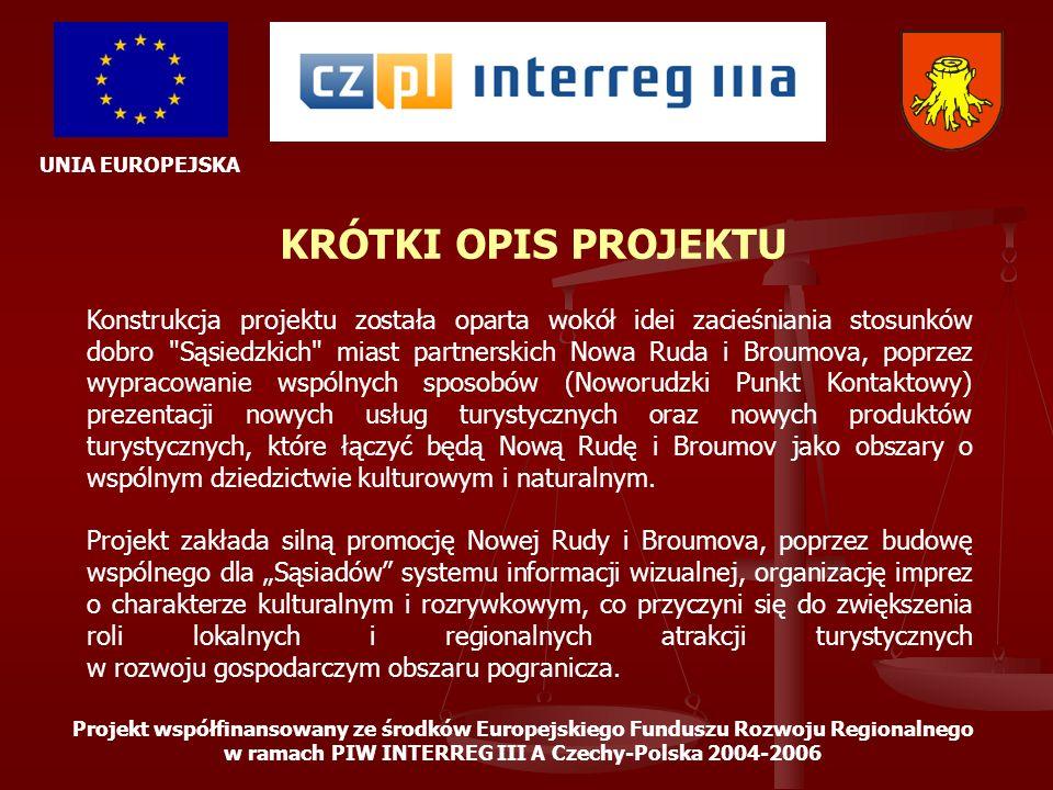 w ramach PIW INTERREG III A Czechy-Polska 2004-2006