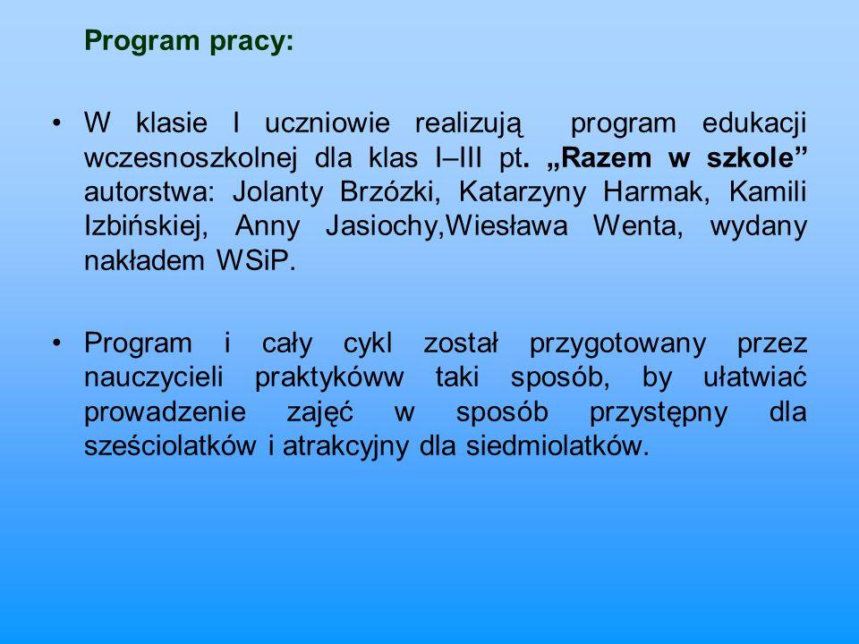 Program pracy:
