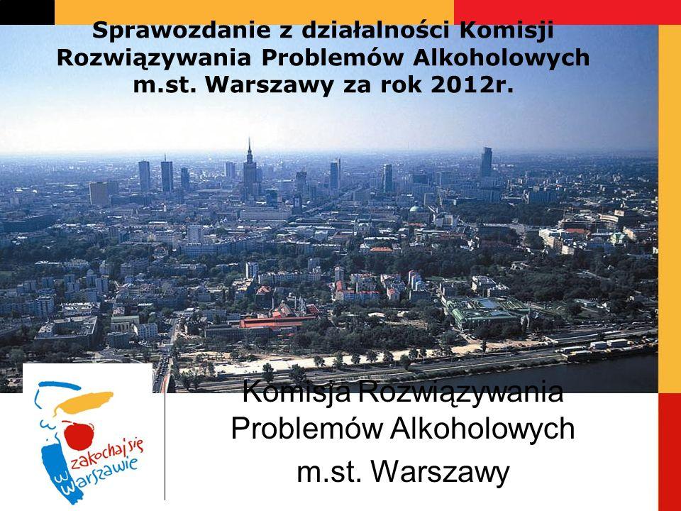 Komisja Rozwiązywania Problemów Alkoholowych m.st. Warszawy