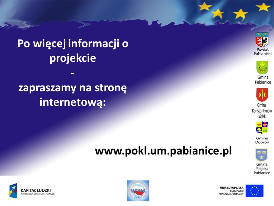 Po więcej informacji o projekcie zapraszamy na stronę internetową: