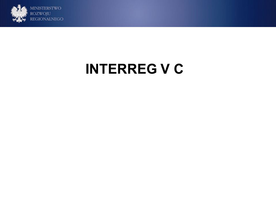 INTERREG V C