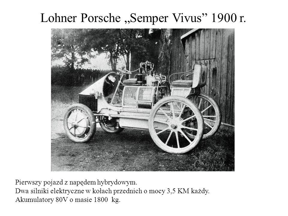 """Lohner Porsche """"Semper Vivus 1900 r."""
