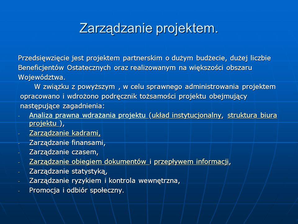 Zarządzanie projektem.
